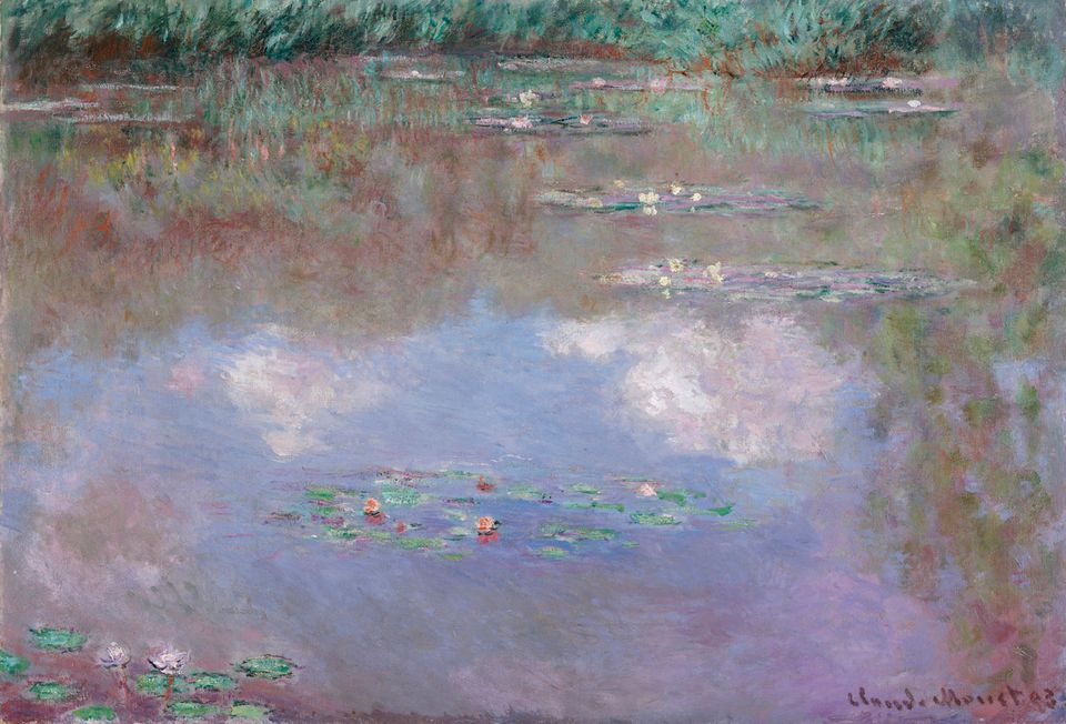 Claude Monet, The Water Lily Pond (1903)