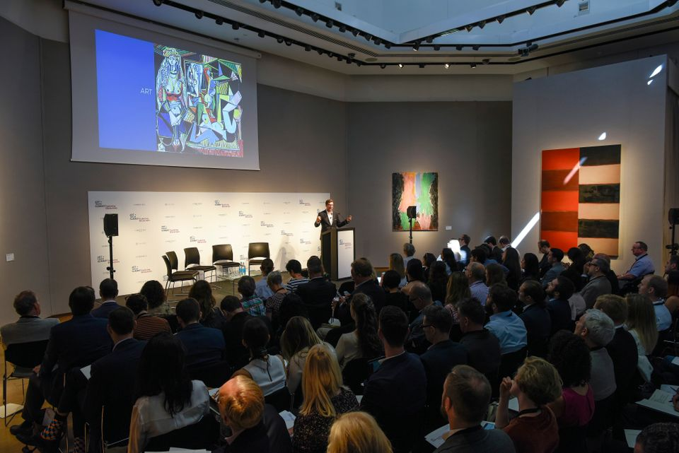 Christie's first art and technology summit focused on blockchain