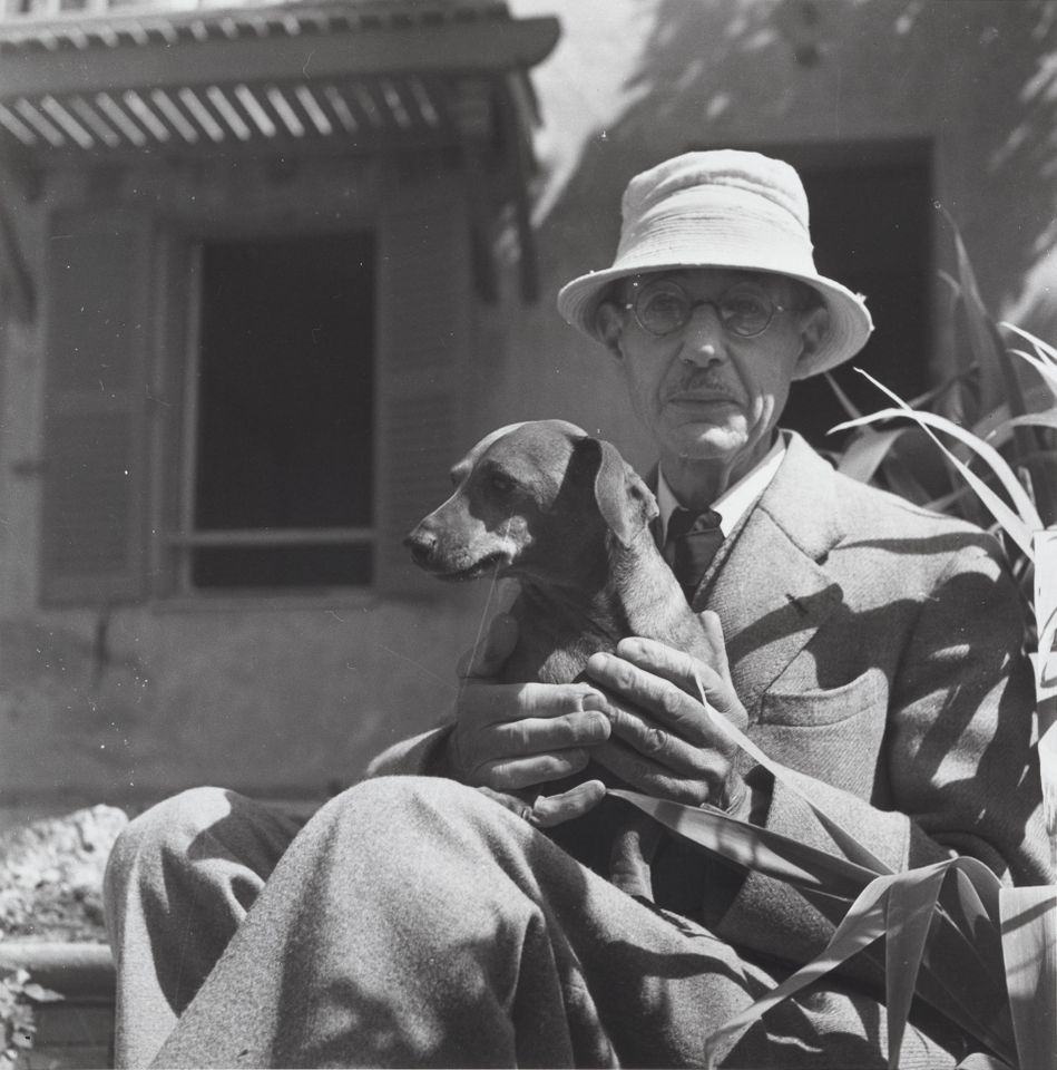 The notoriously shy artist photographed in 1941