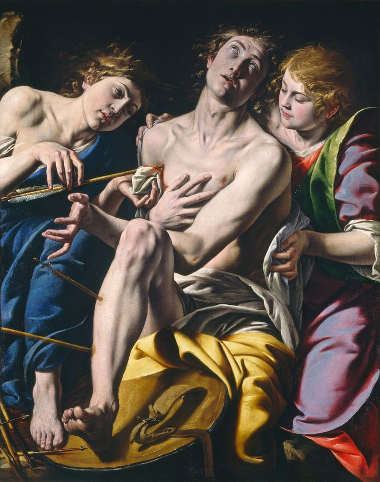 Tanzio da Varallo Italian's Saint Sebastian (around 1620-1630) was purchased in 1935 by Samuel Kress and donated to the National Gallery of Art in Washington, DC
