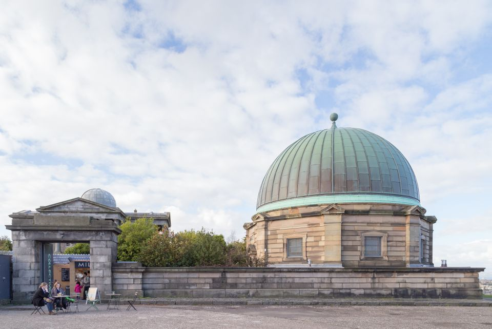 The City Dome, which housed Edinburgh's Victorian observatory, will be Collective's main gallery space