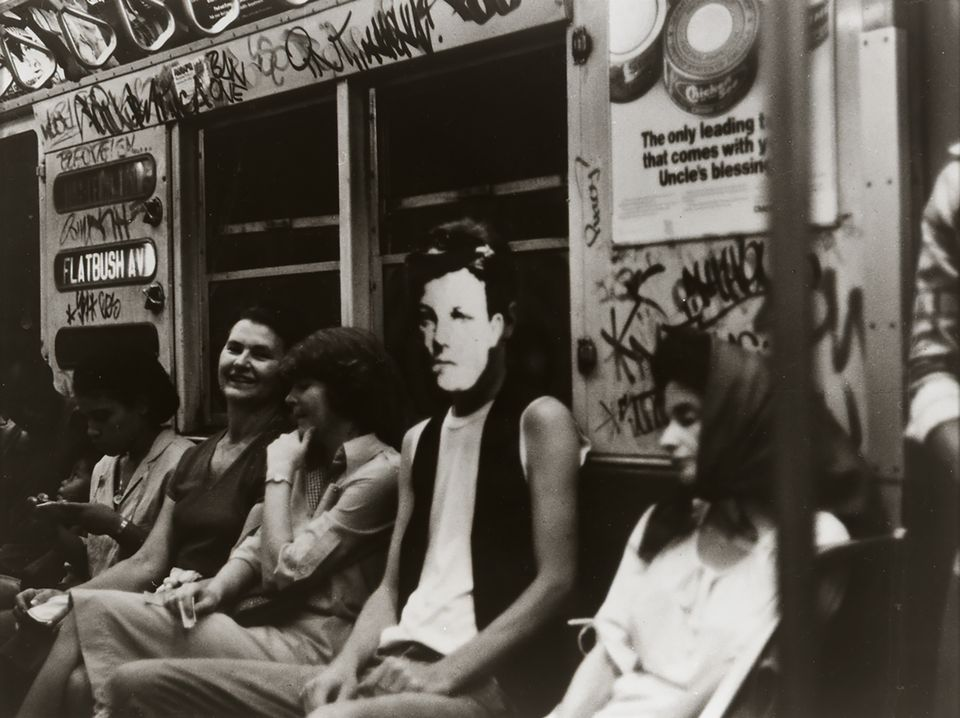 David Wojnarowicz (1954-1992), Arthur Rimbaud in New York, 1978–79, (printed 1990). Gelatin silver print, 8 × 10 in. (20.3 × 25.4 cm).