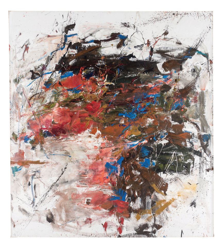 Joan Mitchell's Mandres (1961-62)