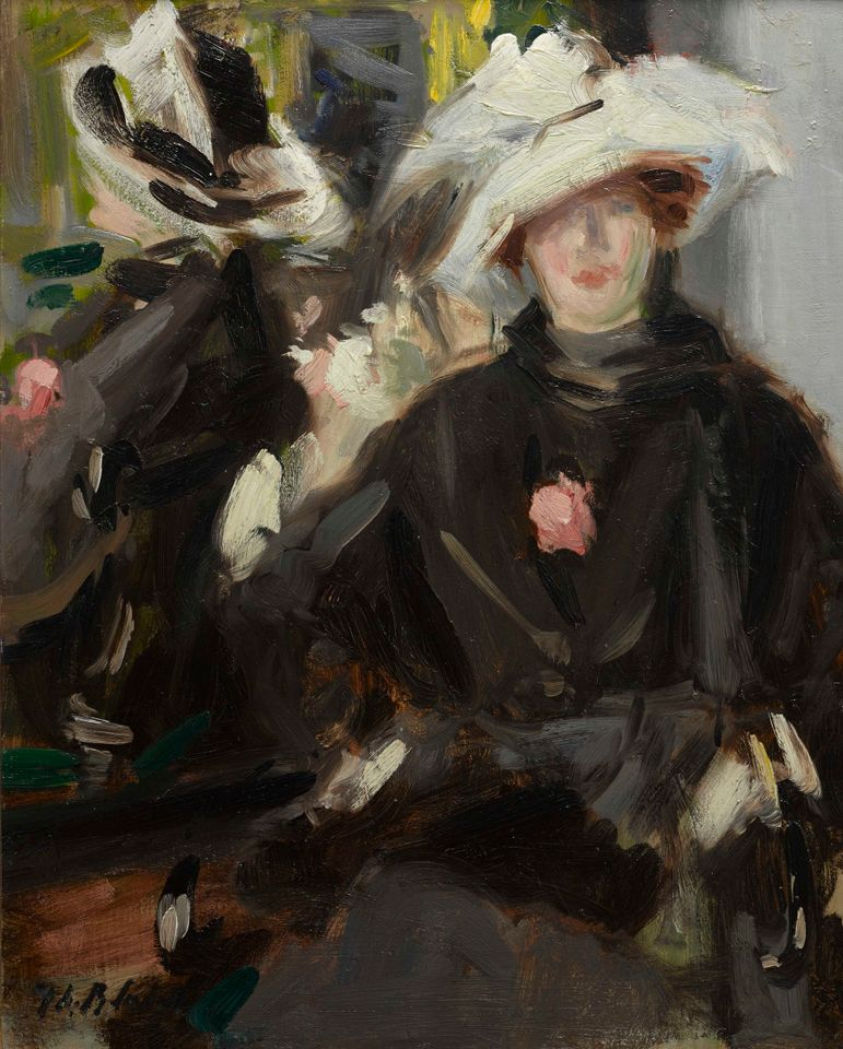 Francis Cadell's The Feathered Hat (around 1910)