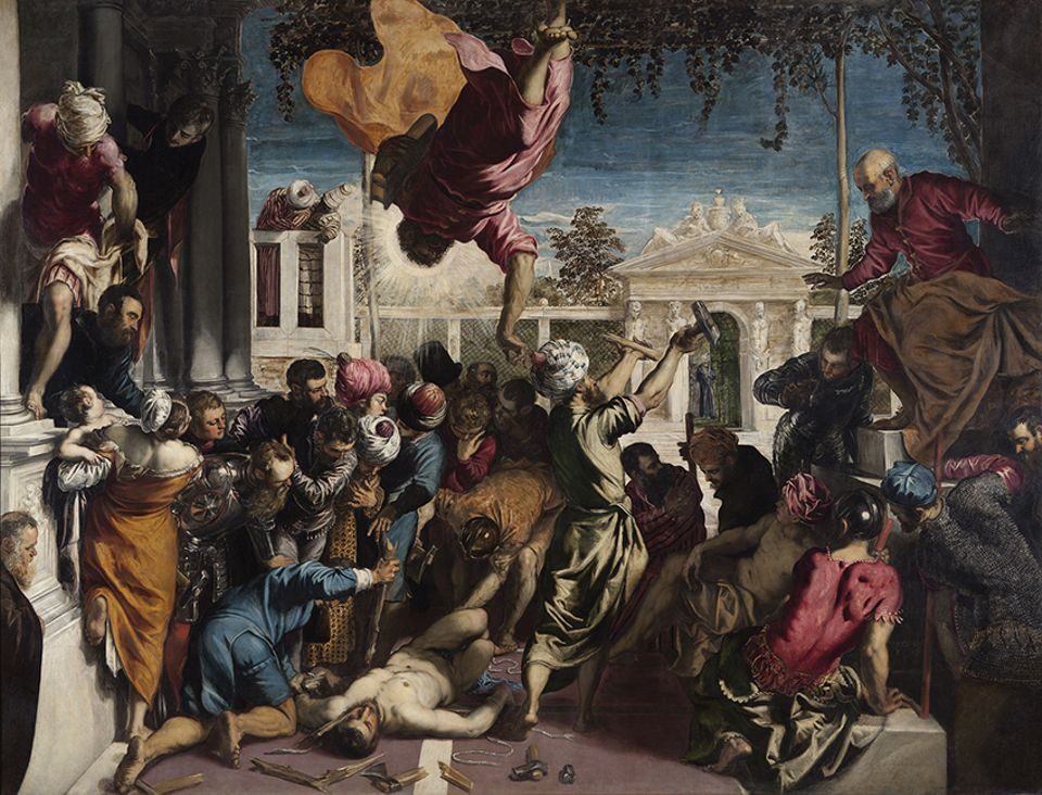The Miracle of the Slave (1548) was Tintoretto's great breakthrough painting