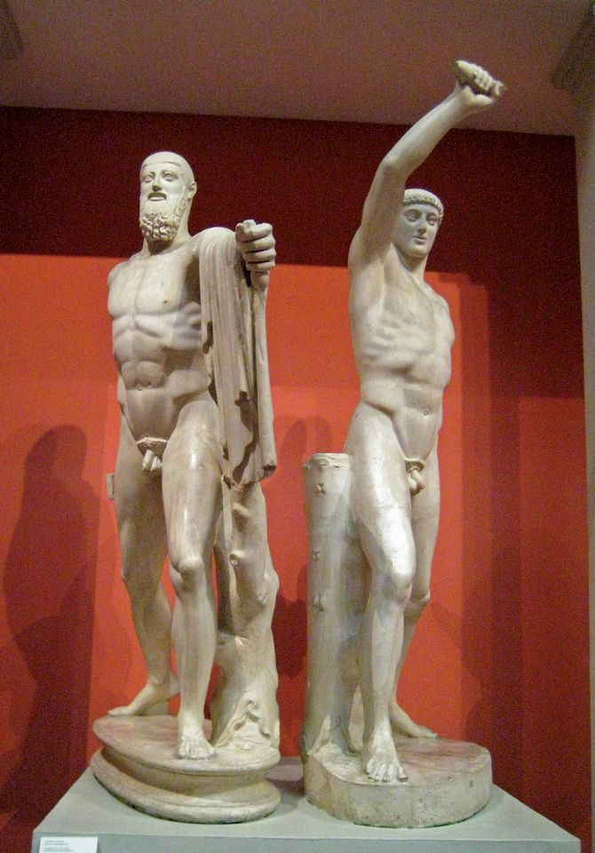 Ancient Greece's tyrannicides—Harmodius and Aristogeiton—are regarded variously as martyrs and villains
