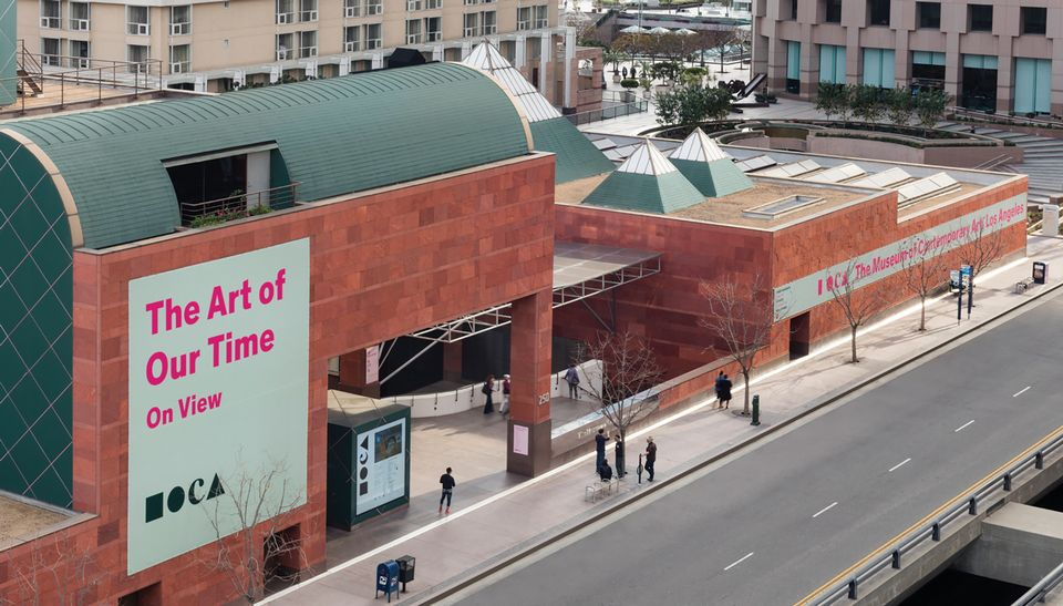The Museum of Contemporary Art, Los Angeles, faces a competitive landscape