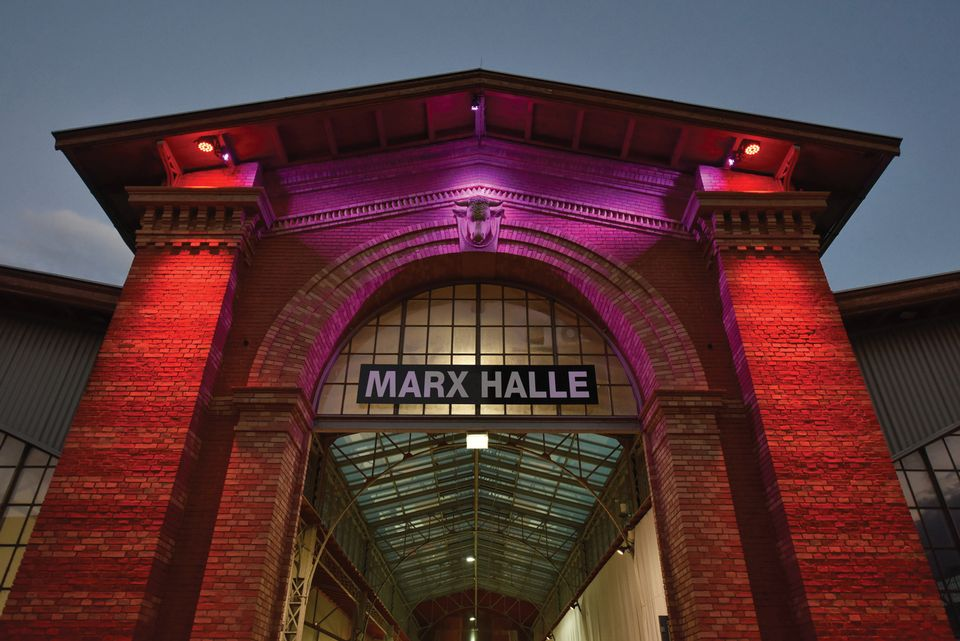 From cattle to contemporary art: former beef market Marx Halle