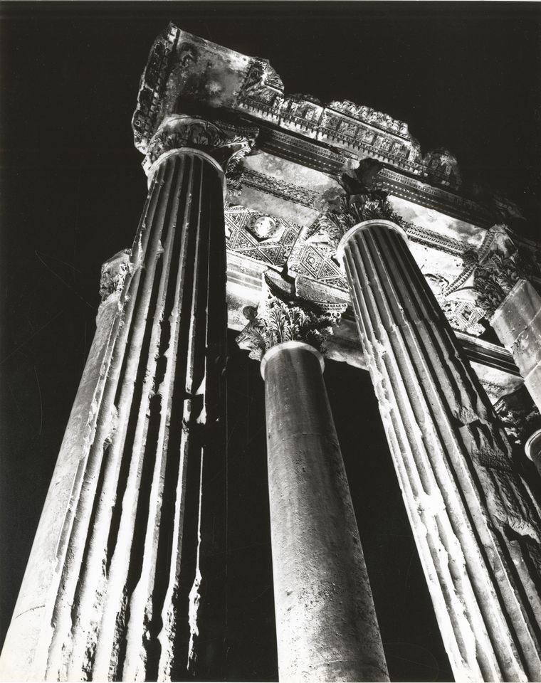 Bacchus Temple at night, 1963