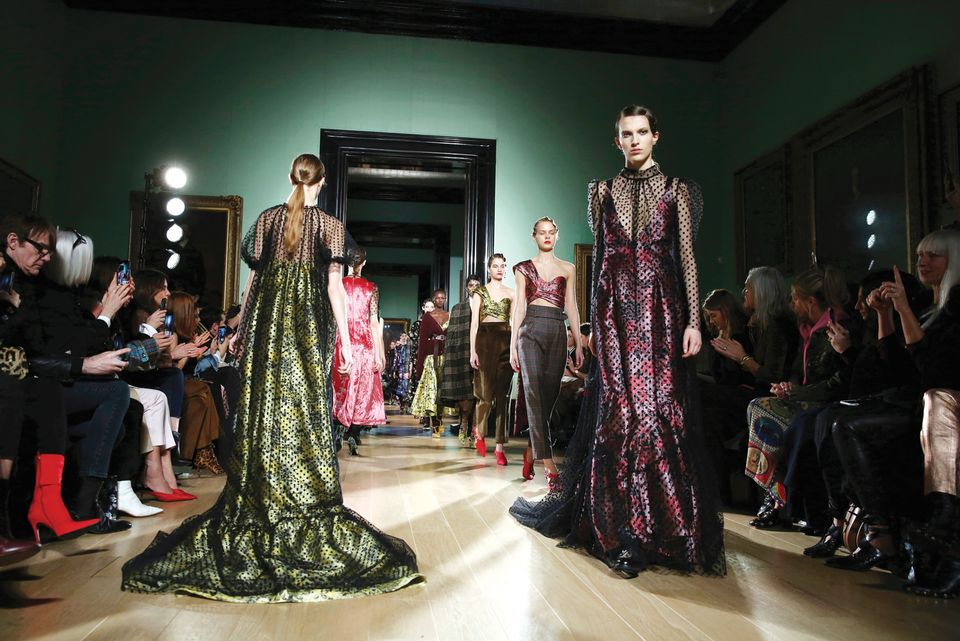 The institution caused controversy in February when it closed for a day to host the designer Erdem's show during London Fashion Week