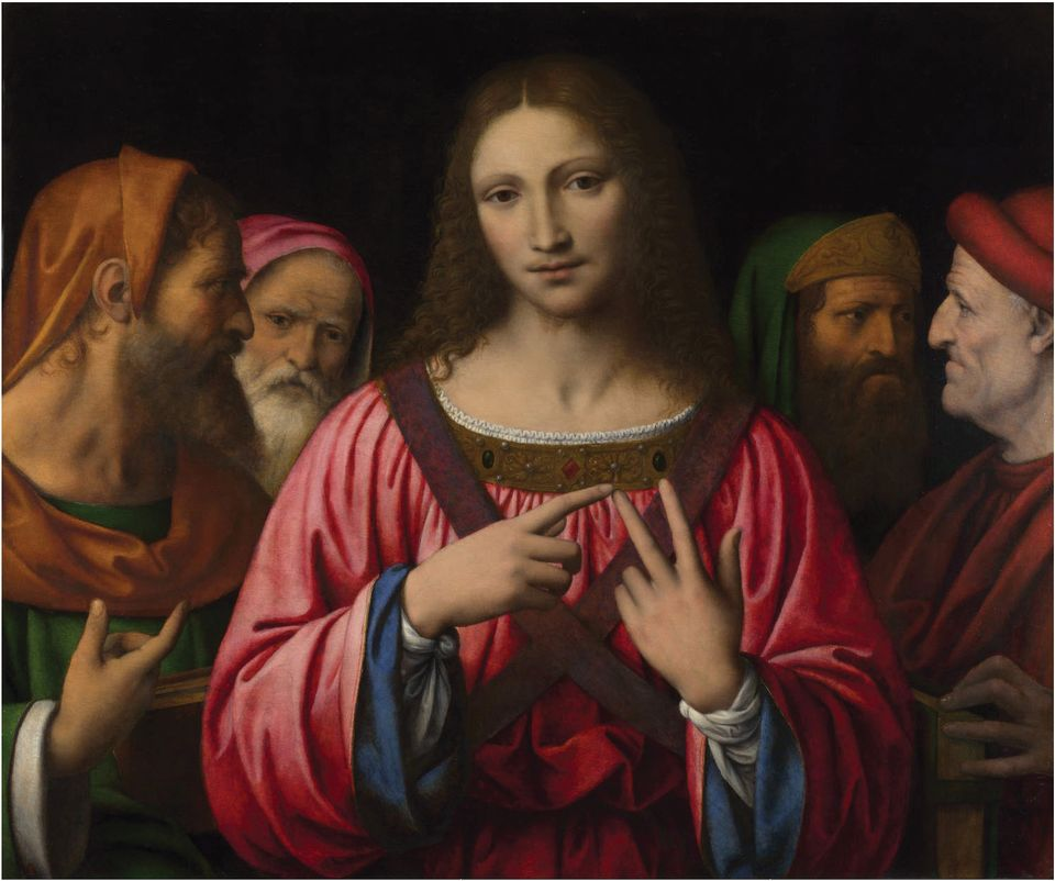 Bernardino Luini: Christ among the Doctors (around 1510-22)