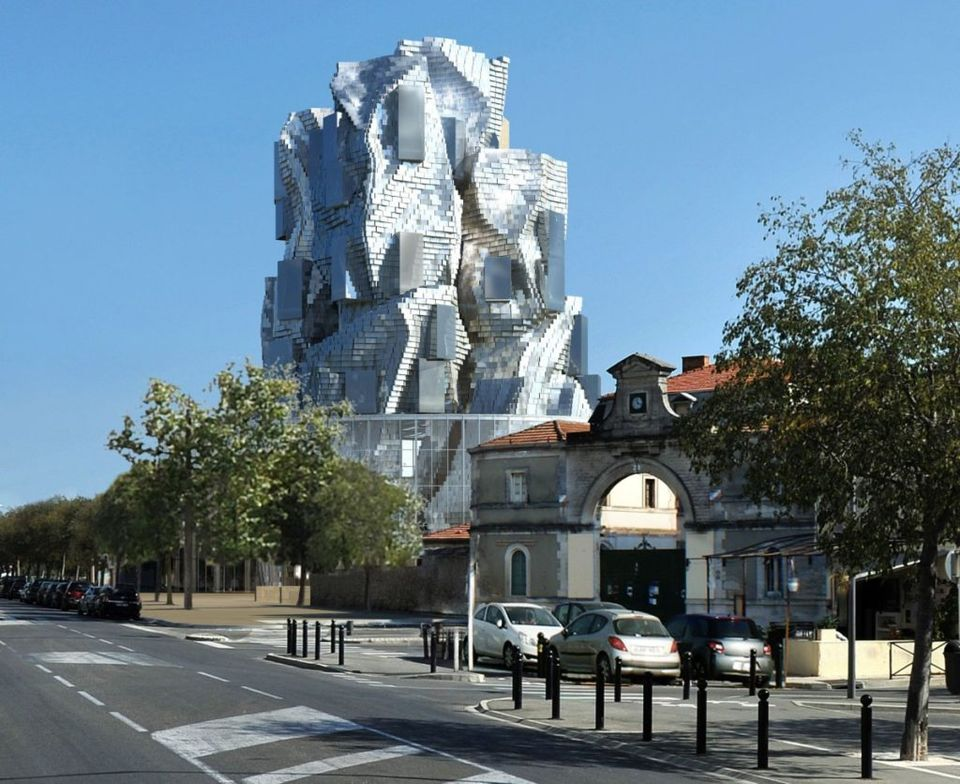 Rendering of Frank Gehry's resource tower