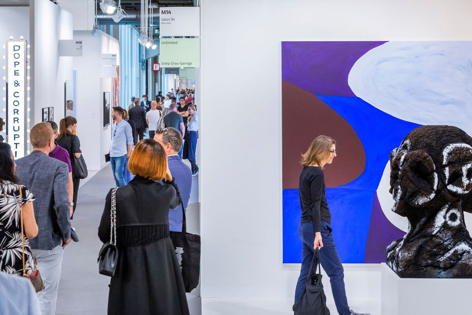 Smaller galleries will pay 8% less and larger galleries will see an increase of 9% at Art Basel