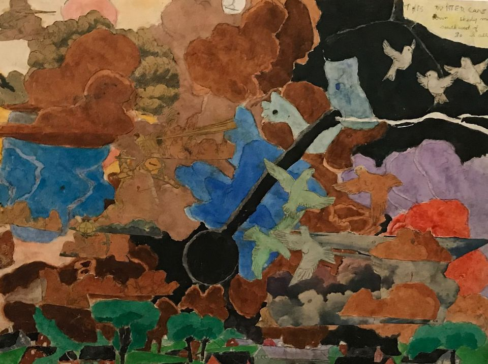 Henry Darger, The Most Dangerous Turnado in Formation (1940-60)