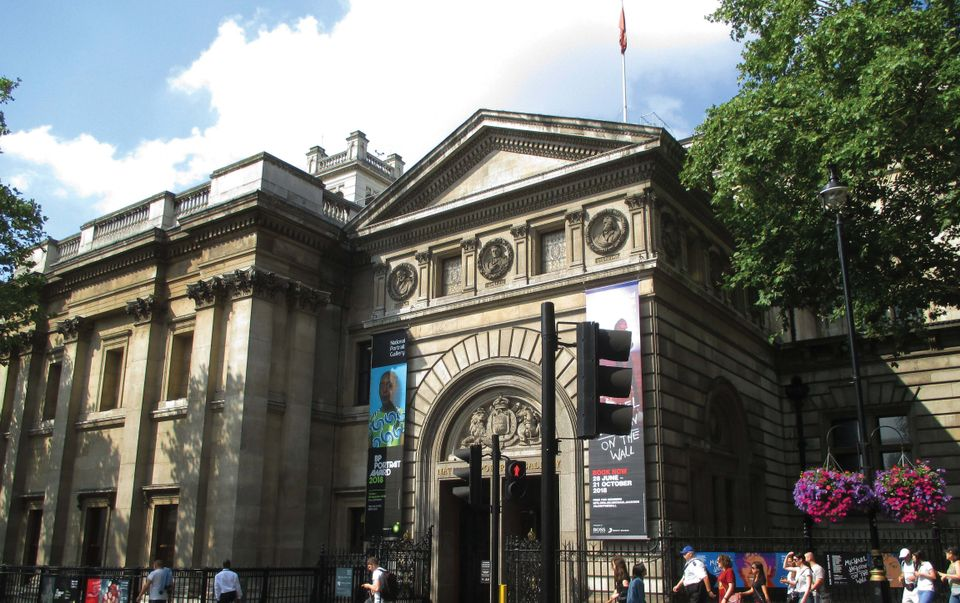 London's National Portrait Gallery
