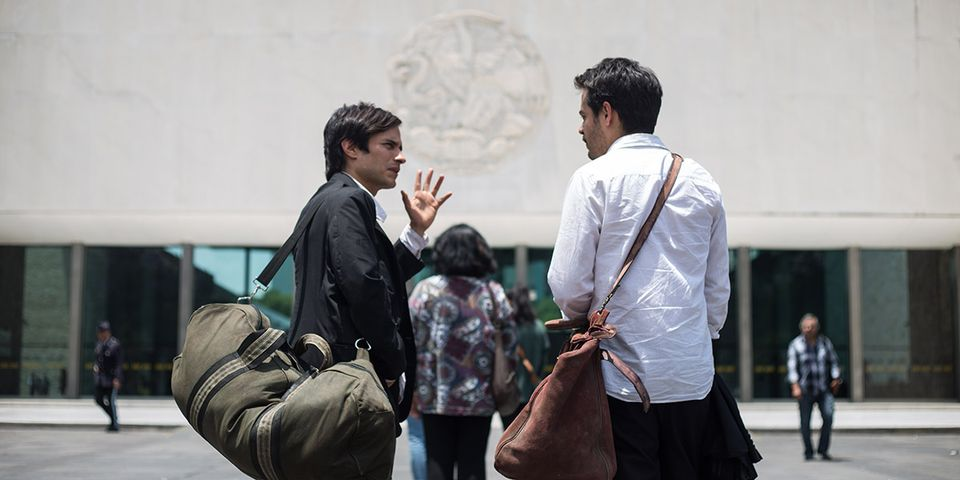 A still from Museo, by Alonso Ruizpalacios, starring Gael García Bernal