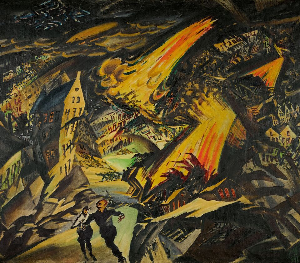 Ludwig Meidner, Apocalyptic Landscape (around 1913)