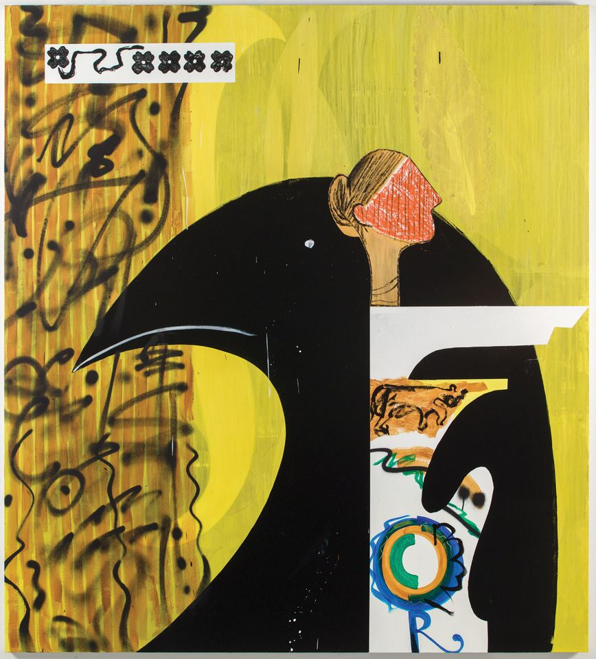 Charline von Heyl Poetry Machine #3 (2018)