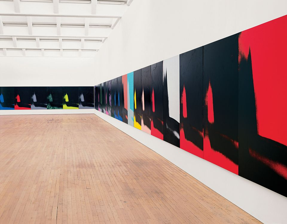 A rare display of Shadows (1978-79) will coincide with the Whitney's Warhol show