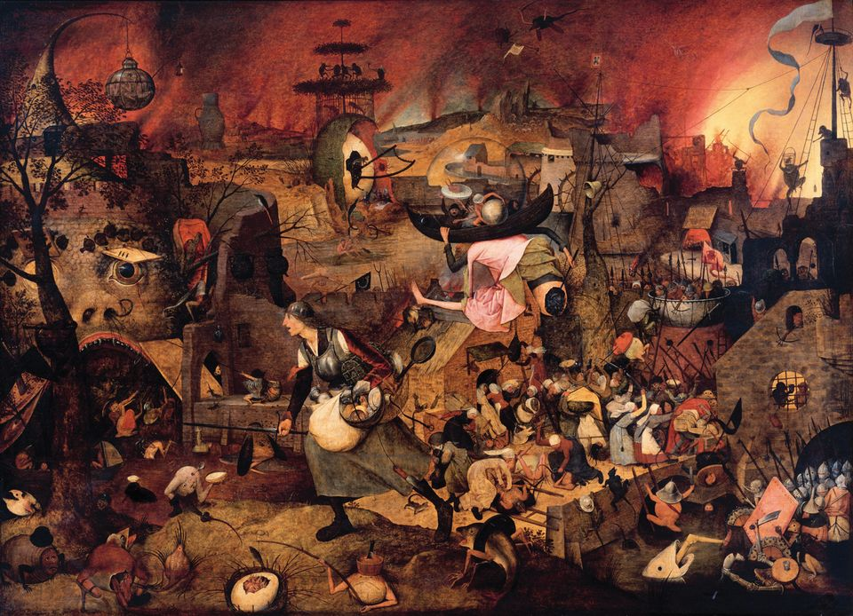 Bruegel's Dulle Griet (around 1562) has been restored especially for the show