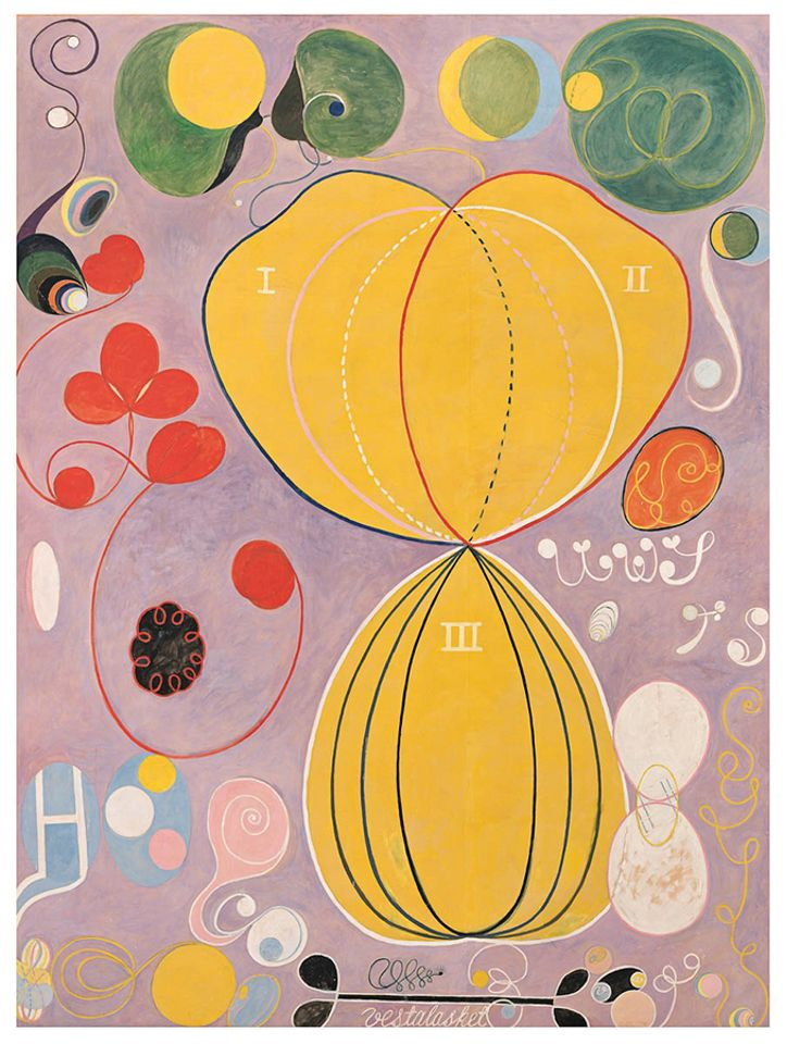 The Ten Largest,  No. 7, Adulthood Group IV by Hilma af Klint