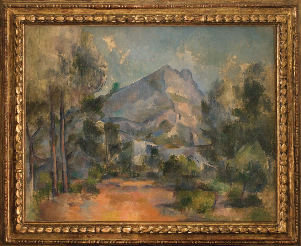 Paul Cézanne's Montagne Sainte-Victoire (1897)—shared between the Swiss and the French