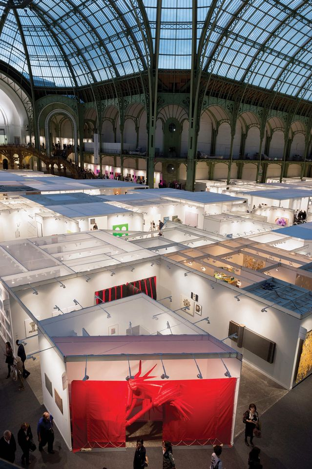 Expect to see more stands with dual-artist shows at this year's fair