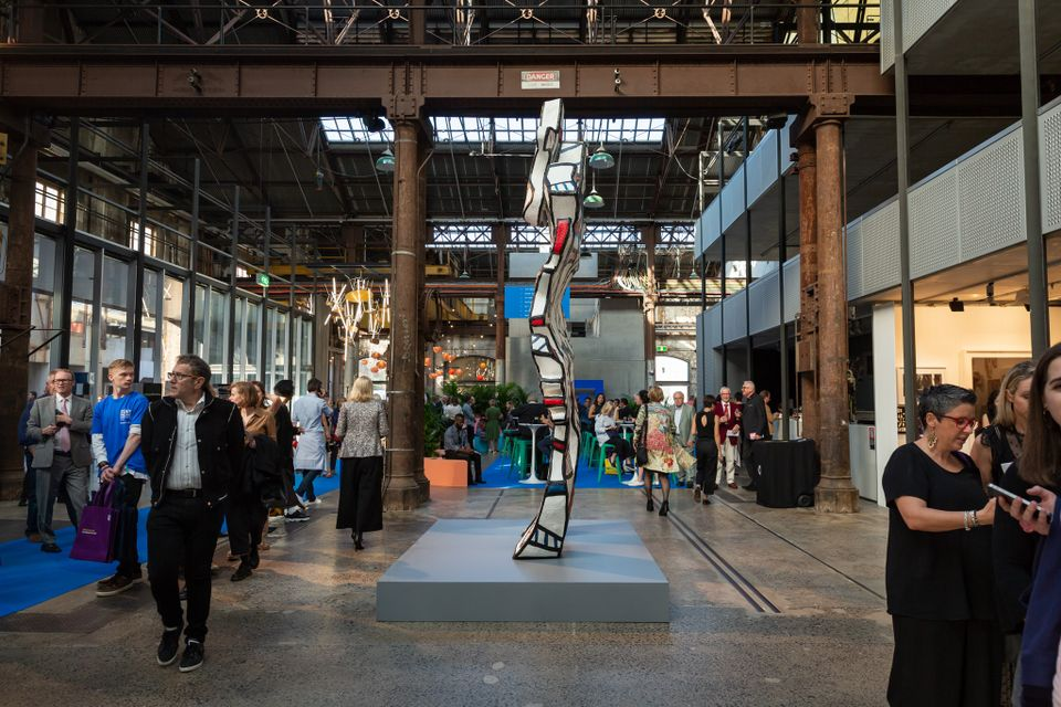 Organisers say AUD $21m of art was sold at Sydney Contemporary this year