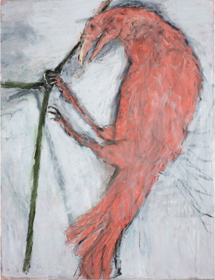 A New Spirit Then, A New Spirit Now, 1981-2018 - Almine Rech, London 2 October-17 November In 1981, Norman Rosenthal co-curated A New Spirit in Painting at the Royal Academy of Arts in London, which told an entirely male history of 20th-century painting—no female artists were included. Now, after four decades of hindsight, Rosenthal is attempting to redress the balance with a remake of the show at Almine Rech. But only slightly—there are only two women (Maria Lassnig and Susan Rothenberg) among the 13 artists. In May, the first part of the exhibition at the New York gallery showed paintings from the 1980s. During Frieze Week, the London exhibition comes up-to-date with paintings by the same artists done after the year 2000.