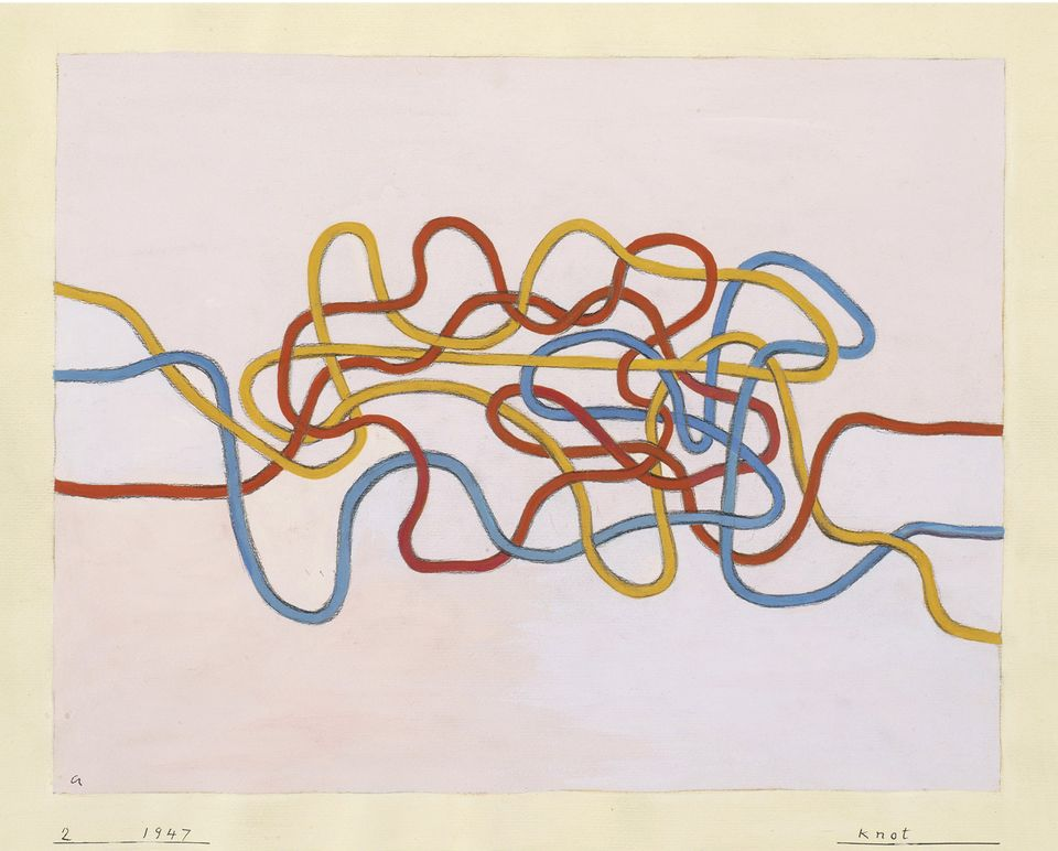 Designs such as Intersecting (1962) were successful commercially as well as artistically