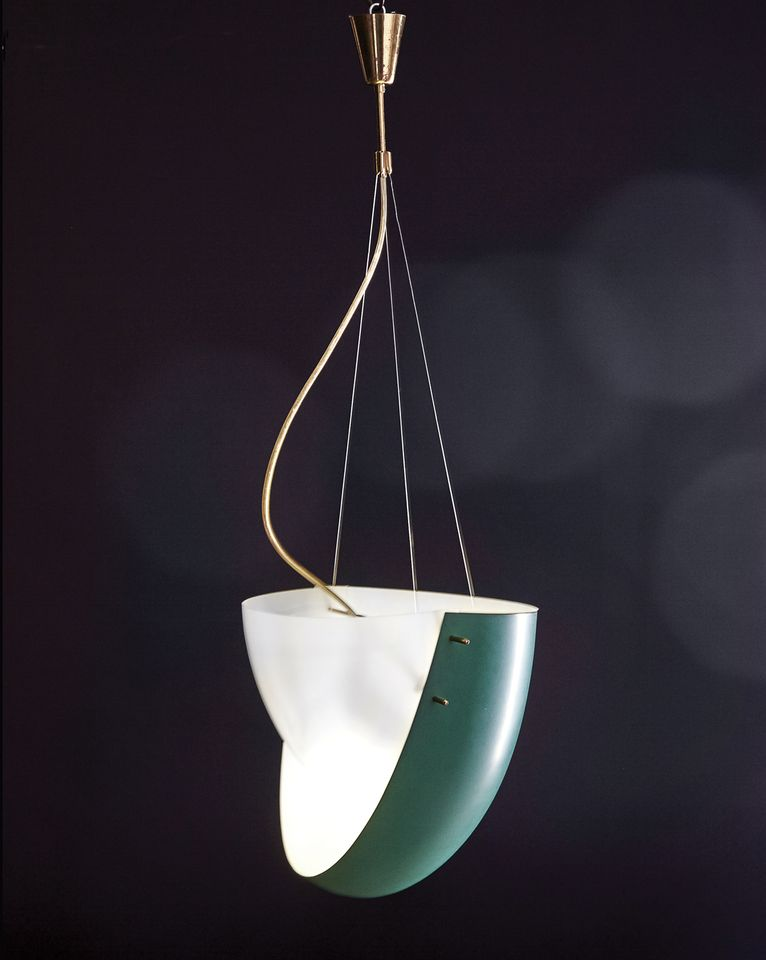 "Ettore Sottsass, suspended light made for Arredoluce (around 1957). Artcurial, Paris, 23 October: The Vocabulary of Ettore Sottsass, estimate €50,000-€60,000. Every year during the Paris fair Fiac, Artcurial holds a themed Modern design sale and this year the subject is the Italian designer Ettore Sottsass, a leading member of the Memphis group. Sottsass partnered with the lighting manufacturers Arredoluce in the mid-1950s and ""designed pieces with a 'space conquest' look, introducing bright colours and materials like aluminum and Perspex when ceiling lamps were mainly made from brass and crystal"", says Emmanuel Berard, Artcurial's associate director and head of design. The collaboration ended in the mid-1960s—these pieces were ""too avant-garde for the commercial market, but have since become legendary"", Berard says. Artcurial sold another edition of this ceiling light in 2015 for €74,000."