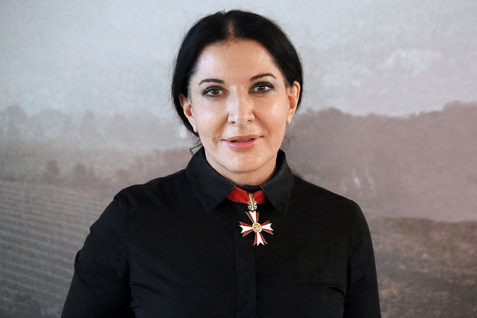 Artist Marina Abramovic Hit With a Painting in Italy Attack