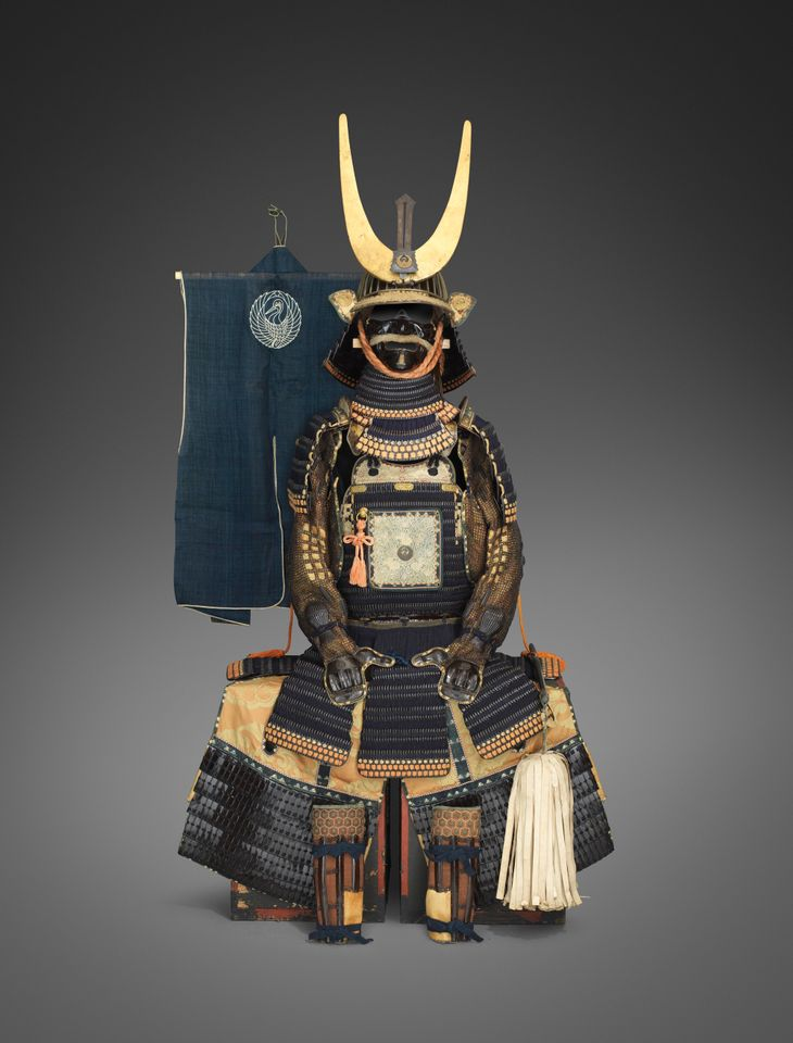Spectacular samurai armour from the 18th century is among the new acquisitions