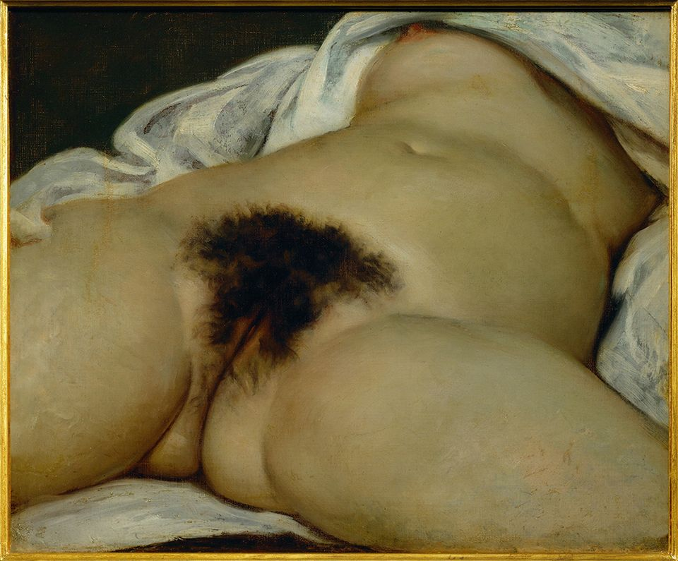 Gustave Courbet, L'Origine du monde (Origin of the World, 1866)
