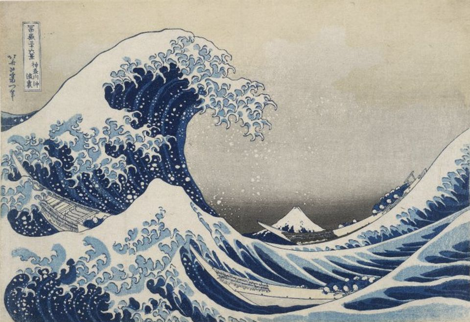 Katsushika Hokusai, The Great Wave, about 1831