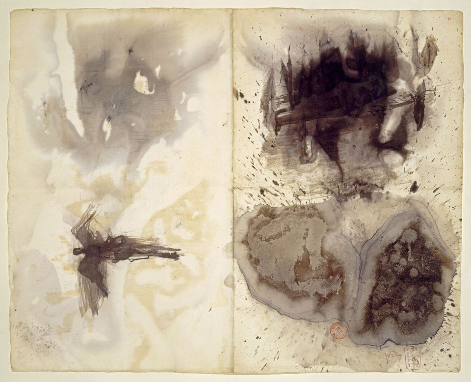 Victor Hugo's Taches (Stains), circa 1875(?)