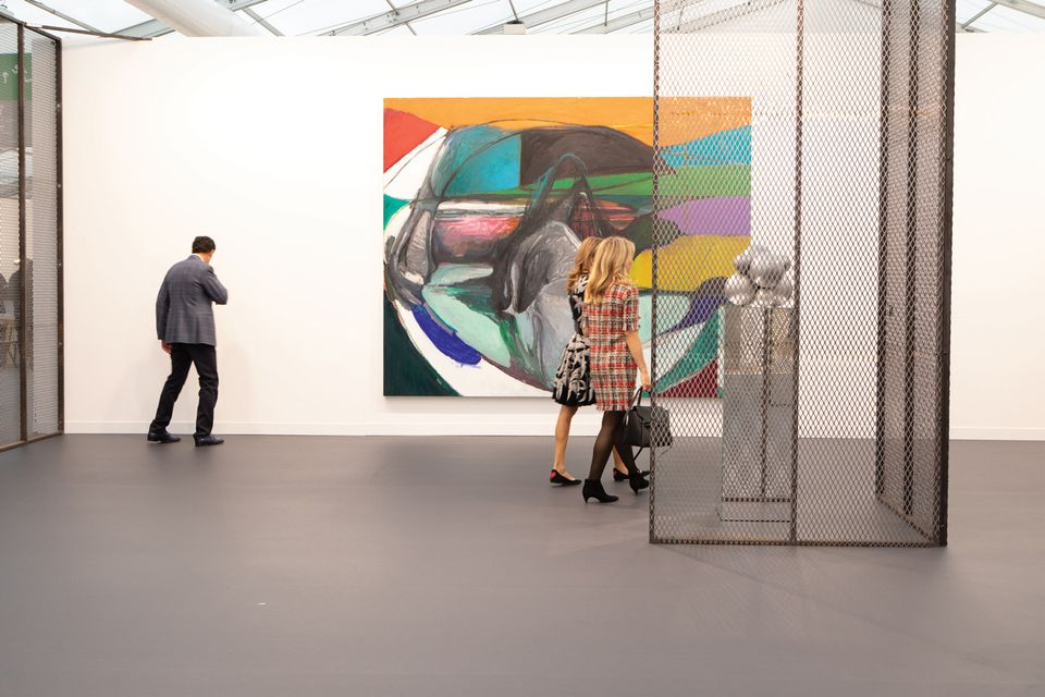 White Cube has dedicated its Frieze London stand to the Chinese artist Liu Wei