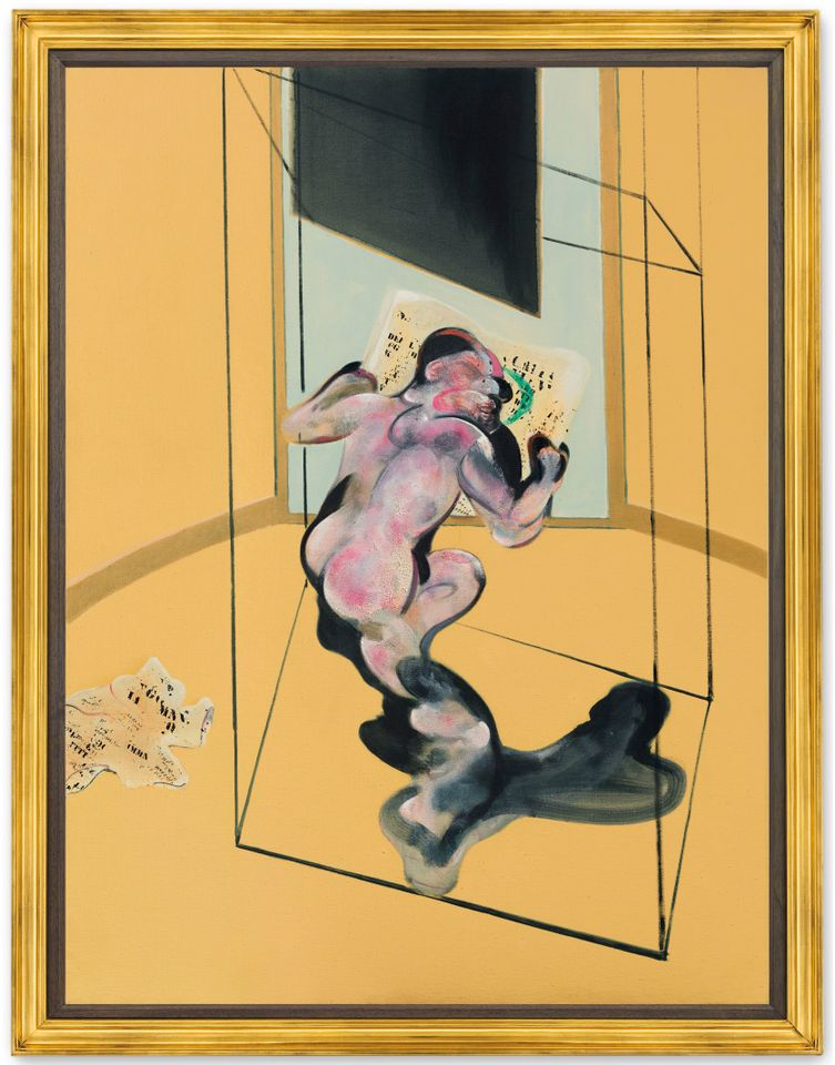Francis Bacon's Figure in Movement (1972)