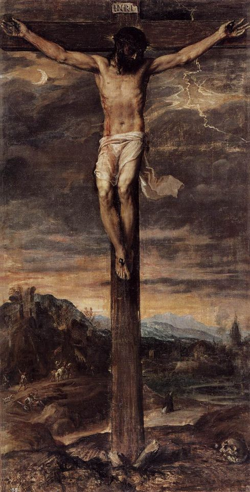 Titian's Crucifixion (around 1555)