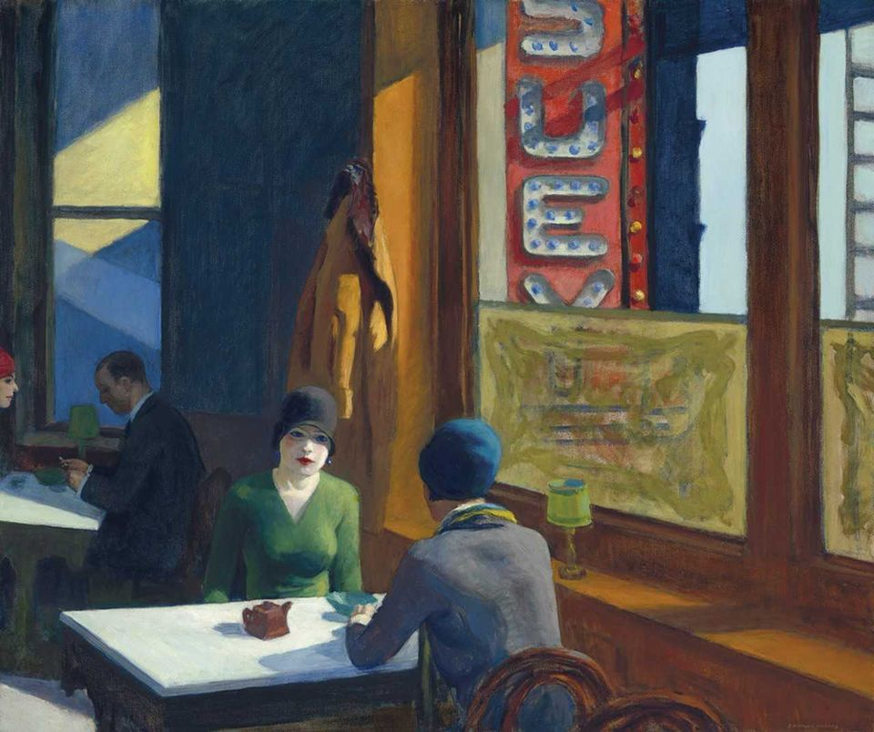 Edward Hopper's Chop Suey (1929) is the headliner of Christie's Barney A. Ebsworth Collection sale