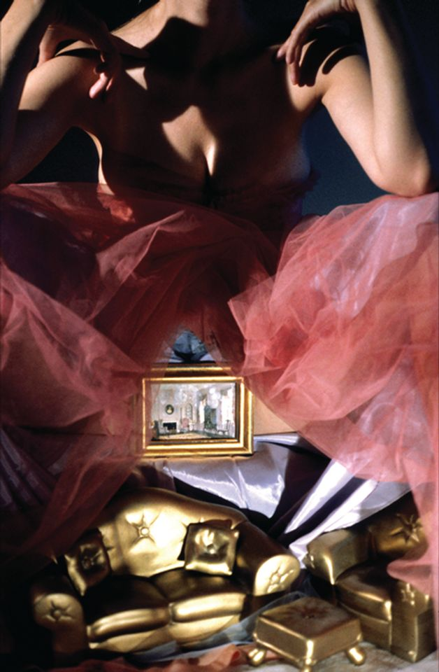 Laurie Simmons, Room Underneath (Gold) (1998)