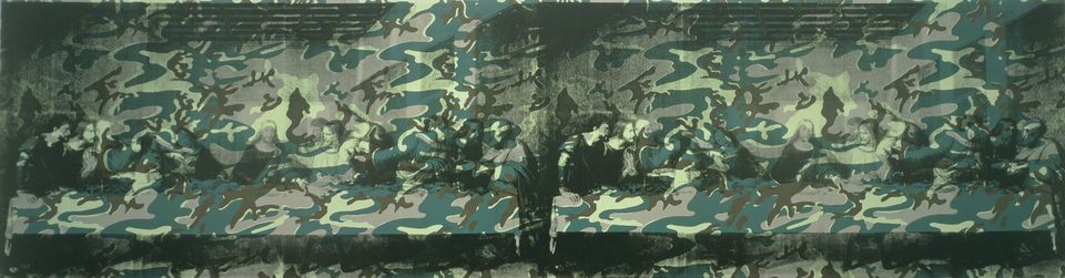 Camouflage Last Supper (1986)