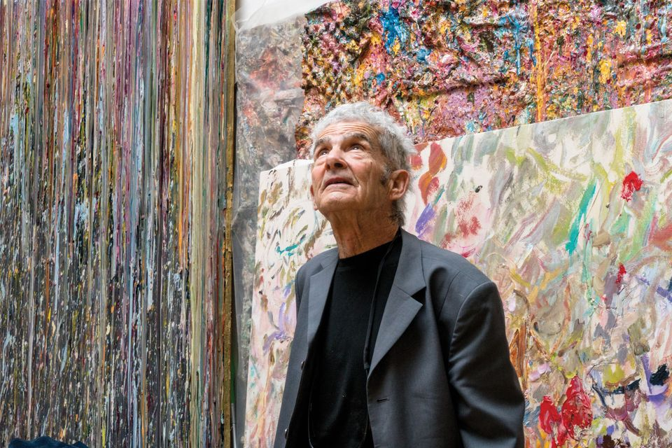 Larry Poons was part of a group exhibition at New York's Museum of Modern Art in 1965, before his work became more radical