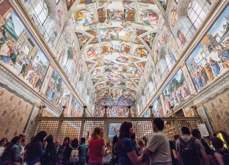 Leading museum directors gathered at the Vatican to discuss their biggest conservation challenges
