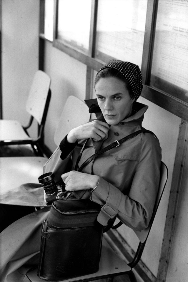 Martine Franck, photographed by Cartier-Bresson, set up their foundation in 2002