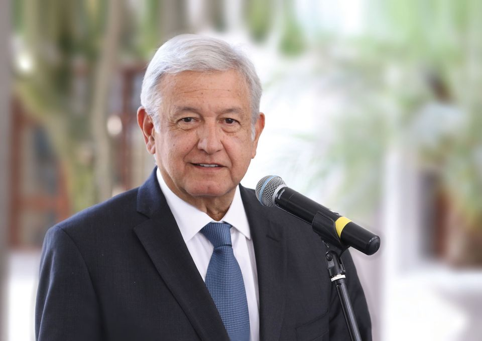 The populist Lopez Obrador has vowed to lead by example