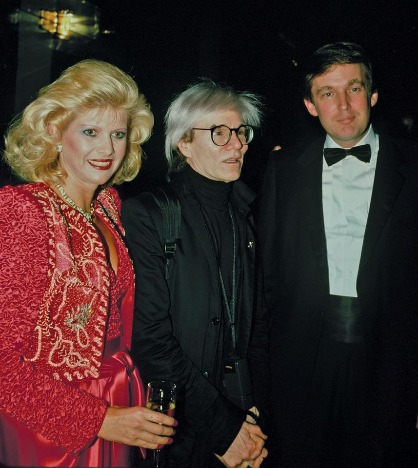 Ivana and Donald Trump turned down Warhol's works