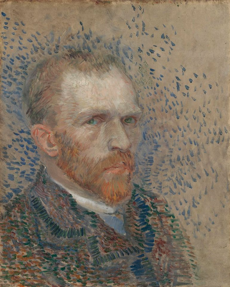 Van Gogh, Self-Portrait, March-June 1887, Van Gogh Museum, Amsterdam (Vincent van Gogh Foundation) - to be shown in Houston