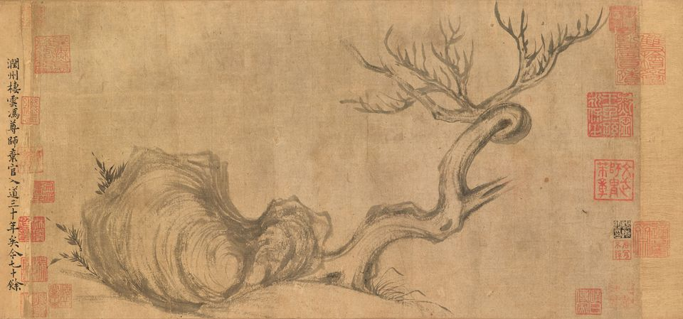 "Su Shi, Wood and Rock (around 1071-1101), Hong Kong Autumn Sale, Christie's, Hong Kong, 26 November, Estimate HK$400m. One of only two known paintings produced by the Song Dynasty artist and scholar Su Shi, this scroll is the first to ever surface at auction and Christie's anticipates it will shatter the $64m record for an Asian work of art, which Poly holds for the 2010 sale of a Song handscroll by Huang Tingjian. The work epitomises ""the tranquil and elegant composition that initiated an aesthetic revolution in China and the development of literati painting"", says Jonathan Stone, the auction house's deputy chairman of Asia and co-chairman of Asian Art."