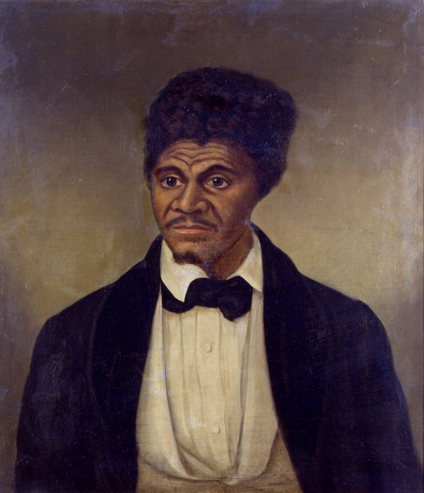 A portrait of Dred Scott (after 1857) by an unknown artist